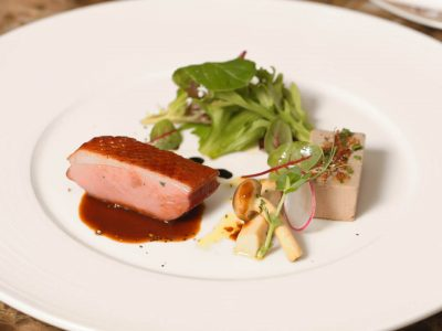 1.Smoked Barbary Duck Breast..