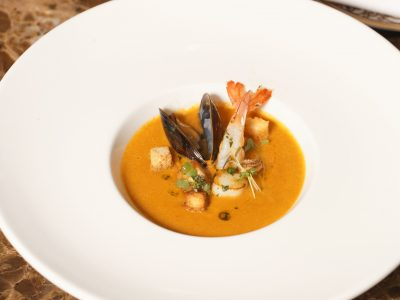 2.Mediterranean Sea Food Soup..