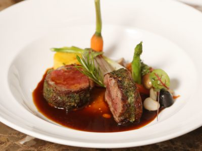 4.Pot-Roasted Grain Fed Australian Lamb Loin..
