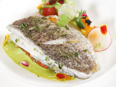 03-din-Steamed Barramundi Fillet With Herbs